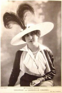 coco chanel first hat design