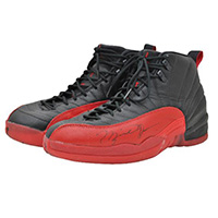 "Autographed ""Flu Game"" Air Jordans trainers or sneakers"