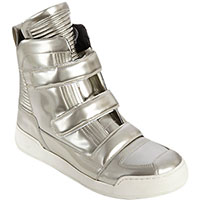 Balmain High Top Double Strap trainer/sneaker