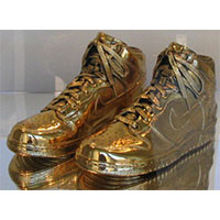 Gold-Dipped Nike Dunks trainers or sneakers